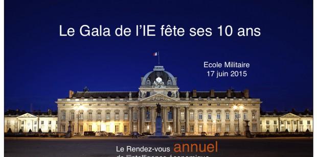 10ème Gala de l'IE le 17 juin – Avec en avant première le lancement du Nouvel Annuaire de l'IE