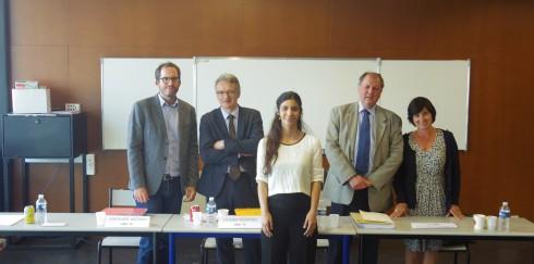 Un nouveau docteur à l'AEGE : la soutenance de thèse de Floriane Galeazzi P17